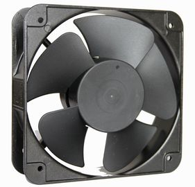 Impedence Protected Motor Axial Cooling Fan , Ventilation Industry Exhaust Fan