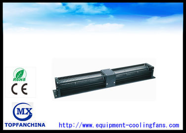 760mm × 99mm × 98mm Capacitor Induction Cross Flow Fan 220V / Industrial Motor