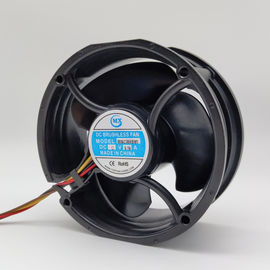 DC Reversible Flow Fan 5500RPM 39db-A Low Noise